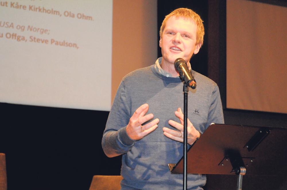 EKSEMPEL: – Det er nødvendig at jeg selv går foran som et eksempel, ikke bare proklamerer ting, mente frikirkepastor og leder av Laget, Jarle Skullerud. FOTO: VILHELM VIKSØY
