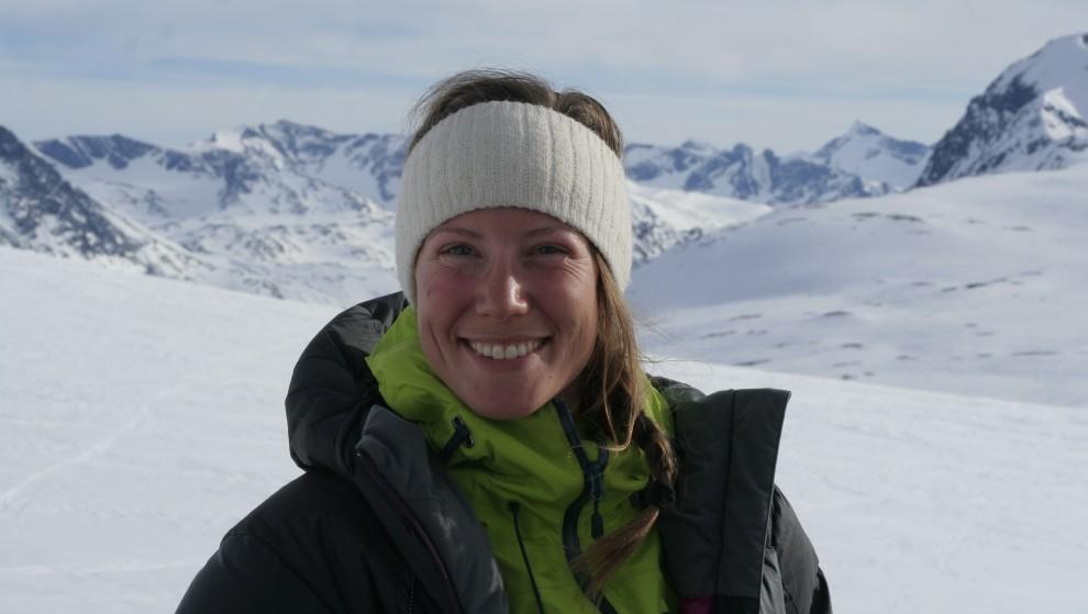 Maria Aarrestad blir vikarlærer på Krik (Kristen idrettskontakt). FOTO: PRIVAT