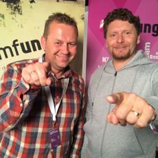 Kenneth og Otto håper du melder inn et lag i ImF-UNG!
