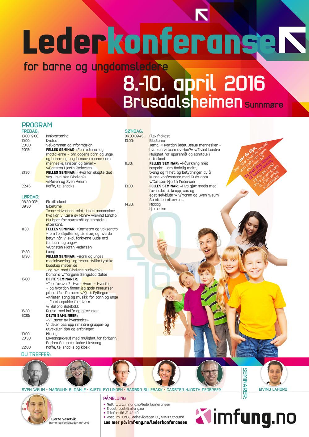 Plakat_Brusdalsheimen_Barnelederkonferanse2016_Ny