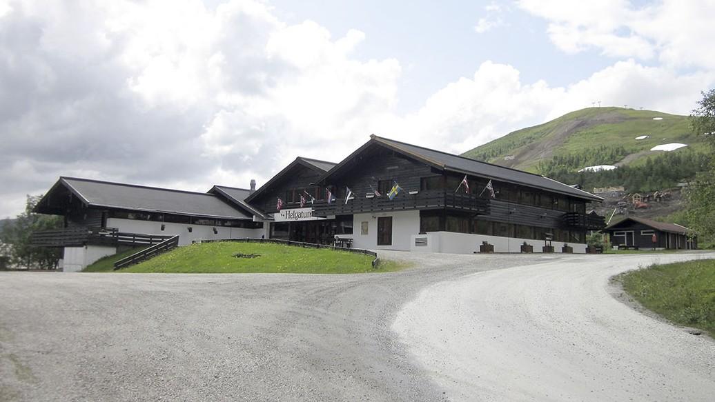 Helgatun fjellpensjonat er eid av Indremisjonssamskipnaden. Foto: Petter Olsen
